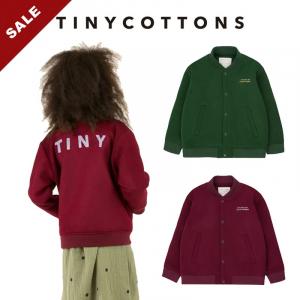 tinycottons 19秋冬儿童棒球夹克毛呢外套加厚保暖复古百搭开衫