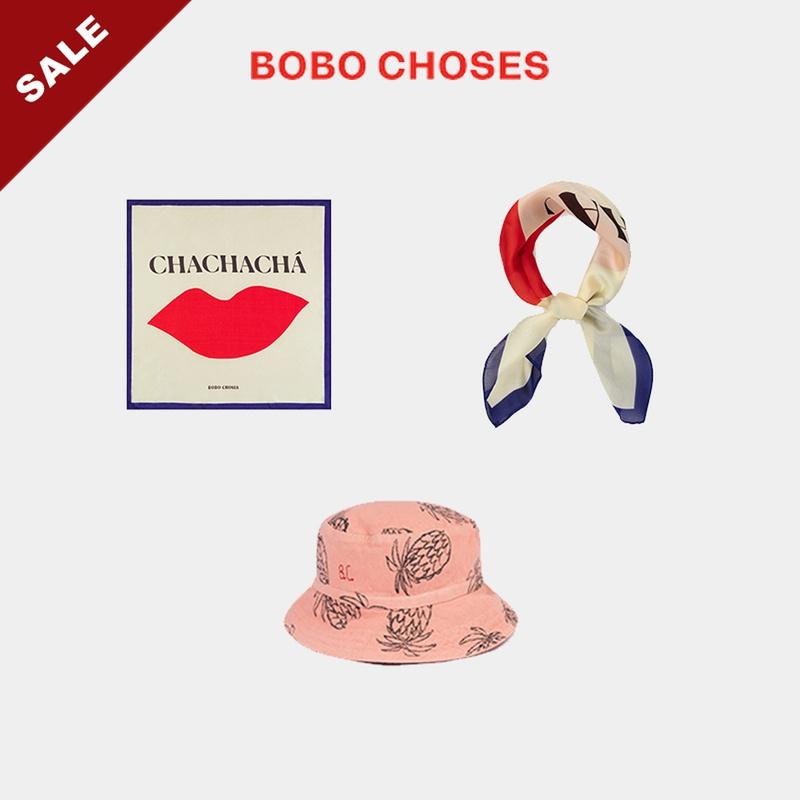 20春夏BOBO CHOSES丝巾头巾宝宝儿童遮阳帽子渔夫帽