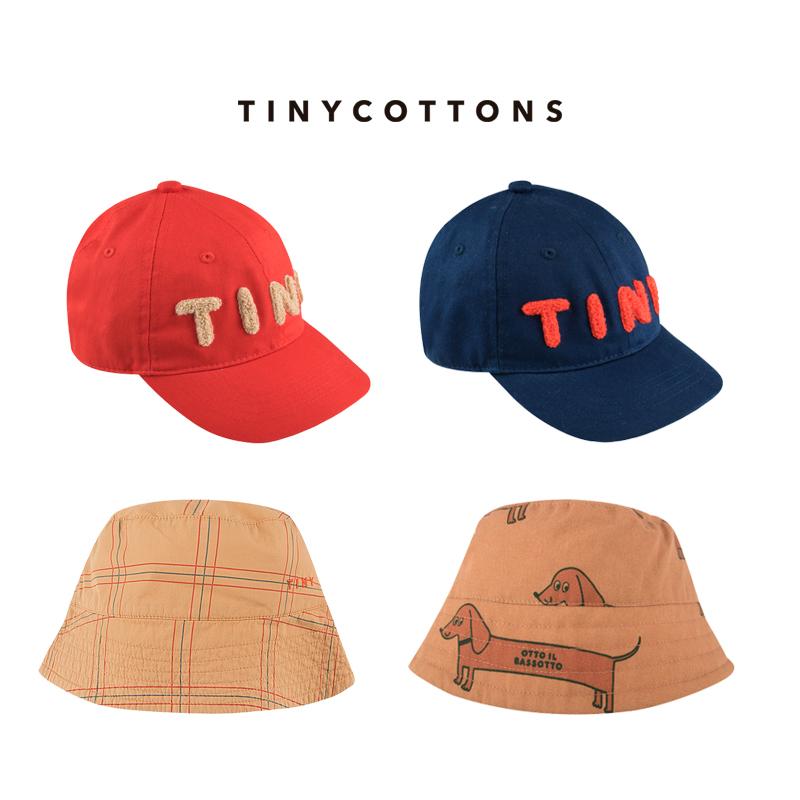 20春夏tinycottons 新品儿童渔夫帽子棒球帽遮阳帽子休闲百搭