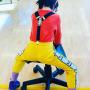 瑞典Mini rodini 男女童企鹅黑色背带夹高弹力三夹吊裤带防滑ins